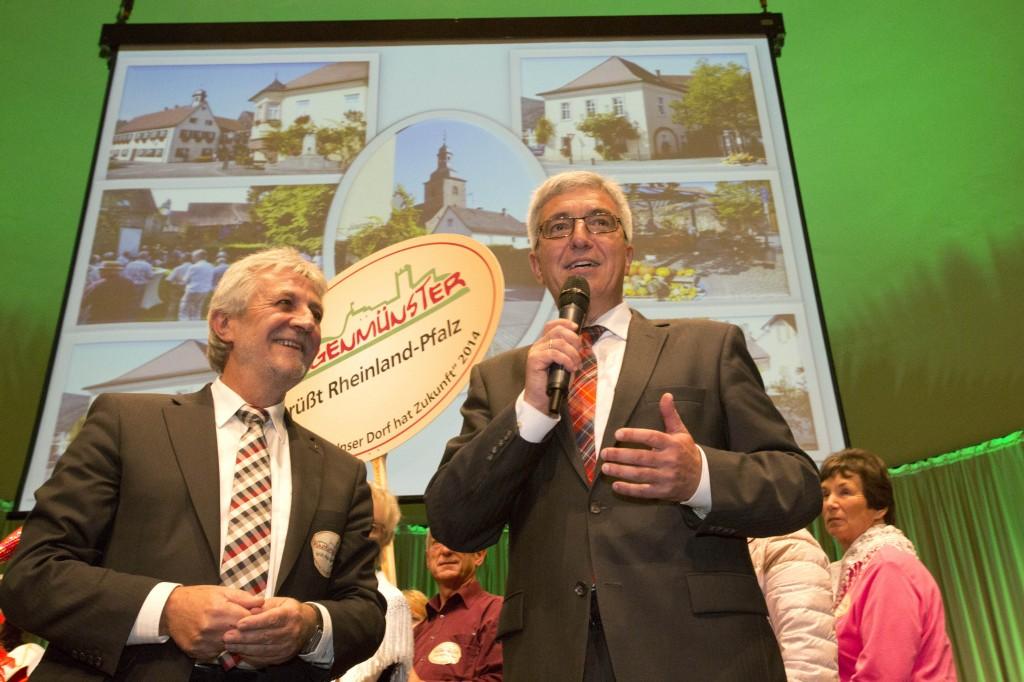 Hermann Bohrer und Roger Lewentz
