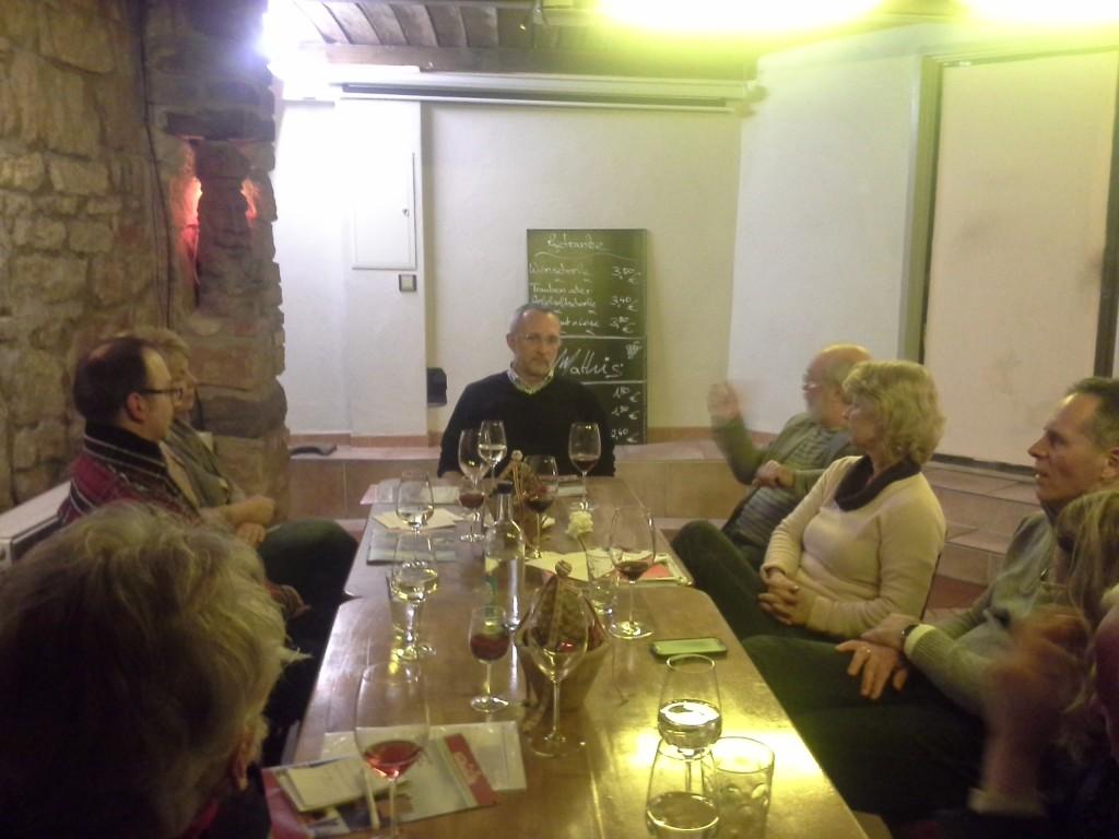 Markus Hoppe diskutiert mit dem AK KulTouri