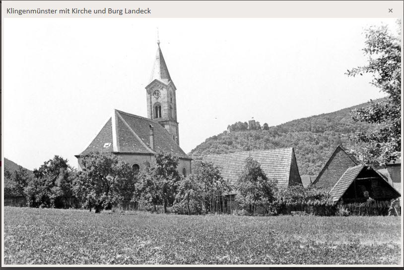 Klm mit Kirche u. Landeck