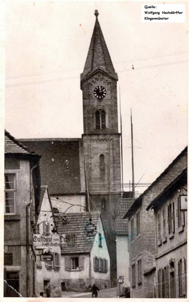 alte Kirche vor Abriss